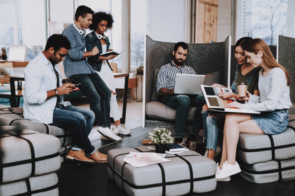 Cultura corporativa não é só uma sala cheia de pufes