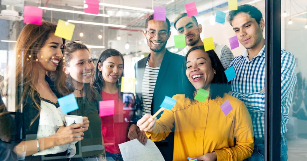 A sua empresa permite que os colaboradores sejam criativos?