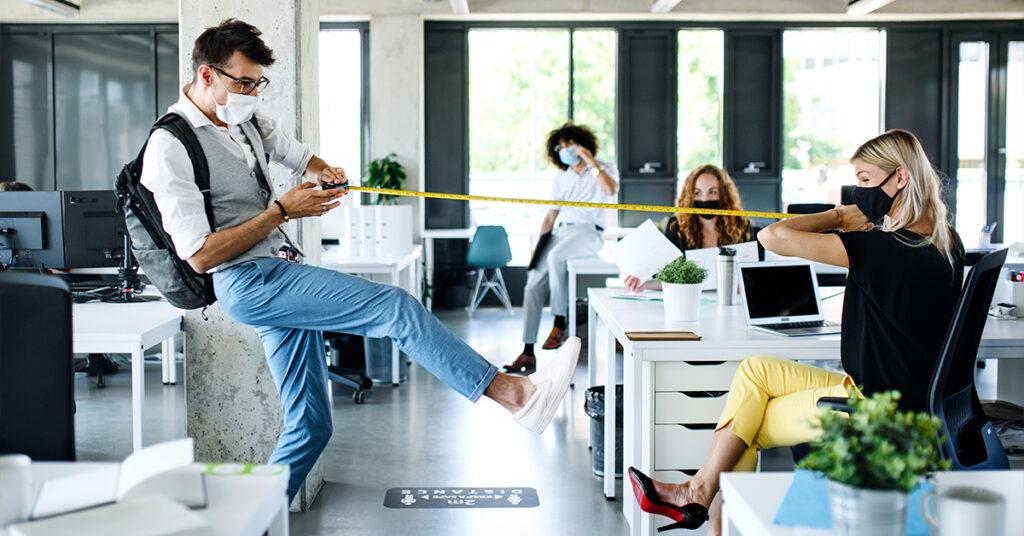 Retornando ao escritório: como ajudar sua equipe a se sentir mais à vontade